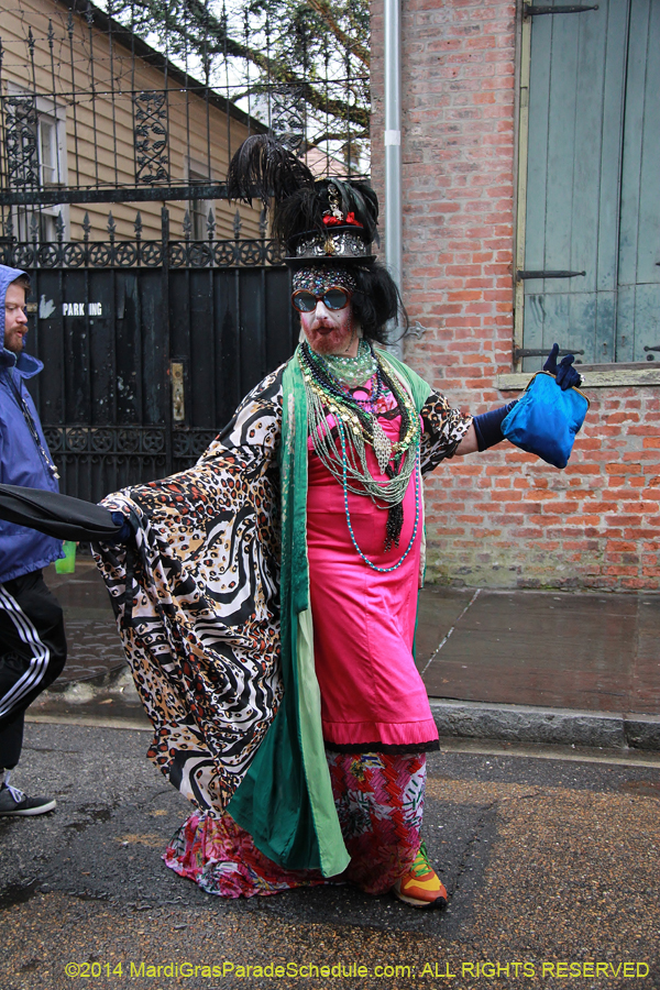 2014 Mardi Gras Day March 4 2014 Presents Quot French Quarter Frenchman Quot