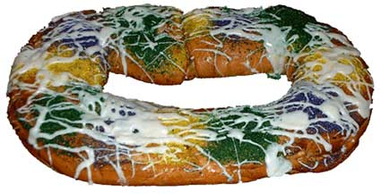 king cake from new orleans