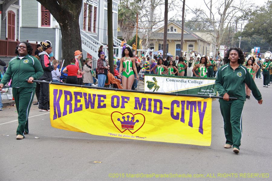 2015 Krewe Of Mid City Presents Quot Dey All Axed For You Quot
