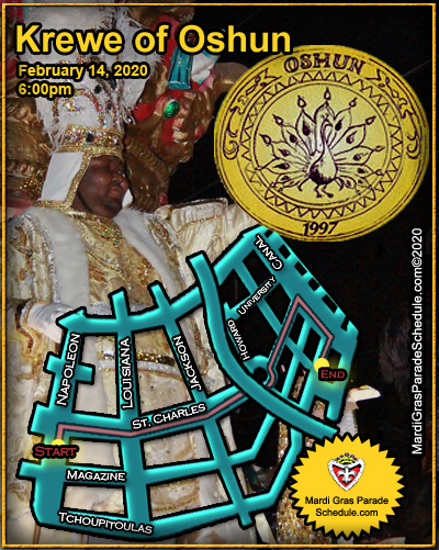 2017, mardi, gras, parade, schedule - nola Weekend