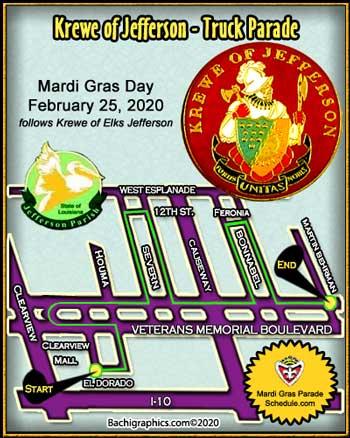 Mardi Gras 2014 Parade Schedule