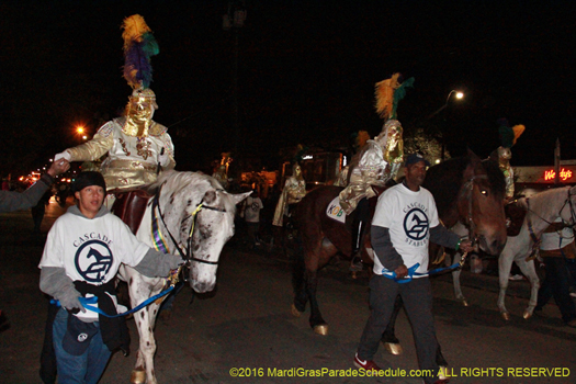 Knights of Babylon officers on Horseback - phot by Jules Richard