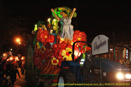 Krewe of Babylon float 2016 - photo by Jules Richard