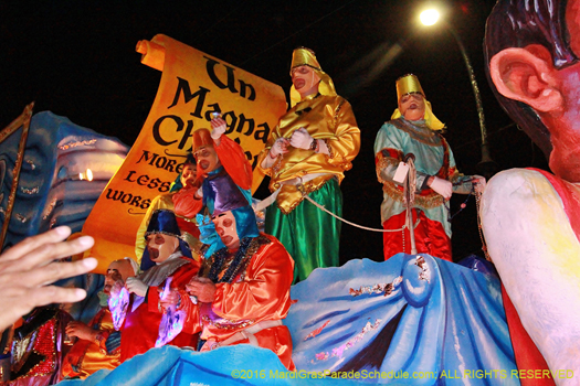 Mardi Gras New Orleans. Secrext carnival organization - photo by Jules Richard