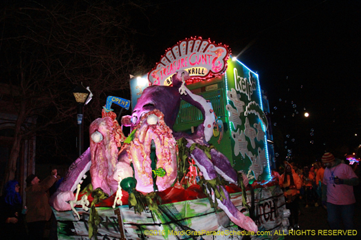 Get the raunch of with Krewe du Vieux - photo by Jules Richard