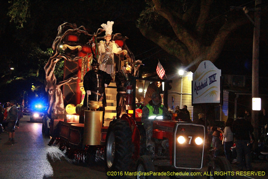 Ancient Krewe of Druids - photo by Jules Richard