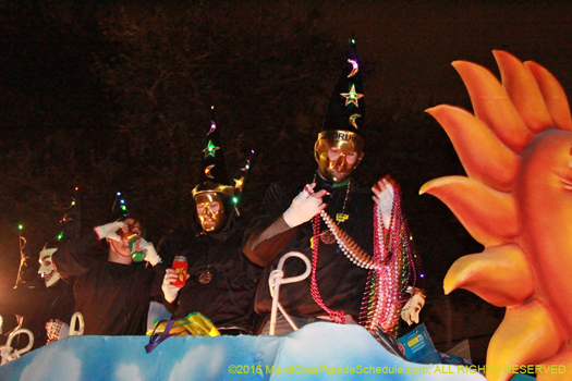 This krewe is mostly members of other carnival organizations - photo by Jules Richard