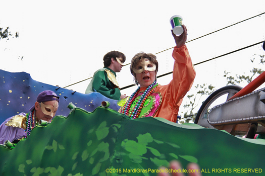 Krewe of Freret New Orleans - photo by Jules Richard