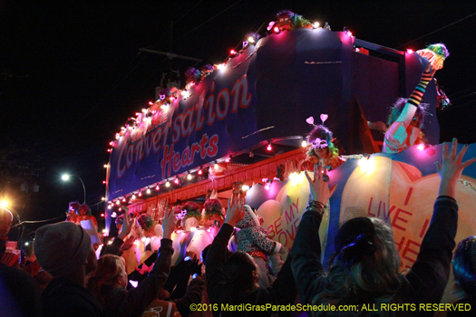Ladies of the Krewe of Muses present satirical parades - photo by Jules Richard