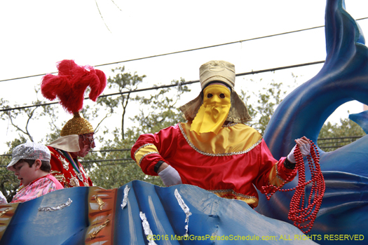 The flounder has been around since the start the the Krewe - photo by Jules Richard