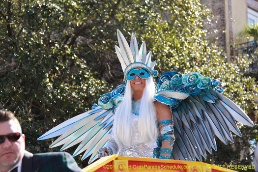 Krewe of Iris - photo by Jules Richard