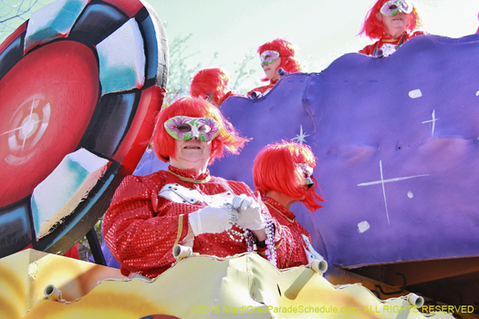 The original ladies of New Orleans takes the streets for Mardi Gras - photo by Jules Richard