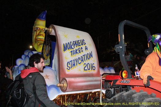 Krewe of Morpheus - photo by Jules Richard