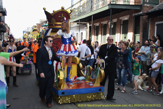 Mystic Krewe of Barkus -  photo bt N. Christopher