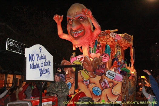 Saterical parade in New Orleans - photo by Jules Richard