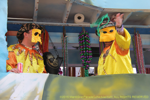 Krewe of Alla - photo by Jules Richard