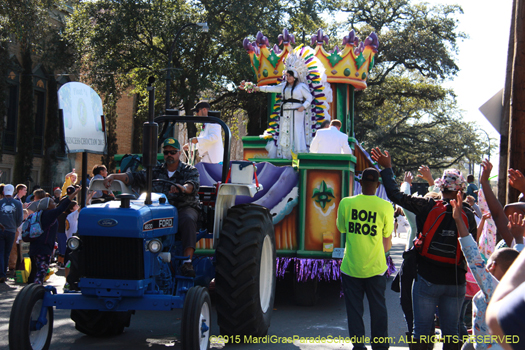 Krewe of Choctaw - photo by Jules Richard