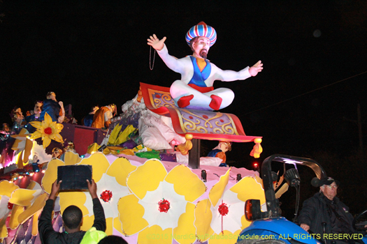 Krewe of endymion - photo by Jules Richard