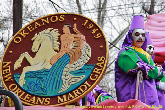 Krewe of Okeanos 2015 - photo by Jules Richard