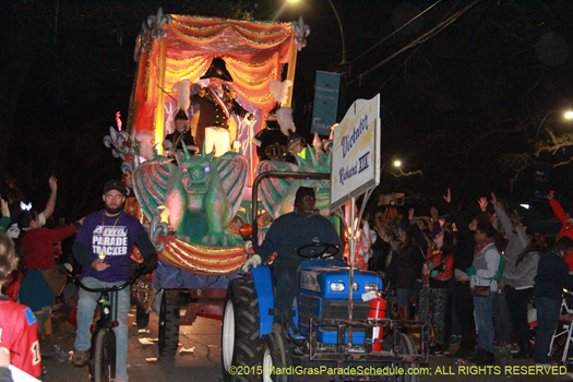 Le Krewe d'Etat new orleans- photo by Jules Richard