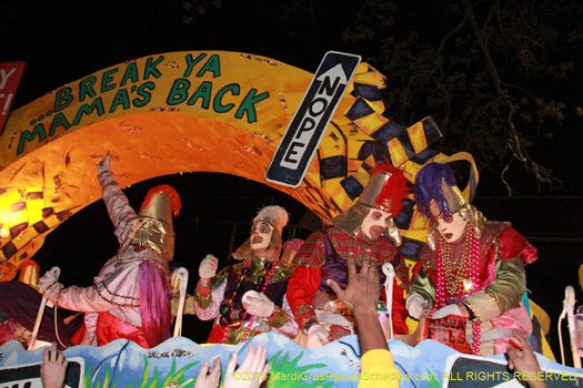 Le Krewe d'Etat - photo by Jules Richard