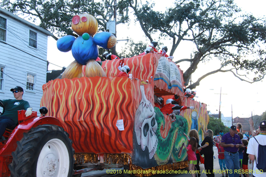 Innagural parade for the Krewe of Femme Fatale - phot by Jules Richard