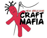 The New Orleans Craft Mafia formed in June 2005 and consists of several independent artists in a variety of media: jewelry, clothing, accessories, bath & body, home decor, and more. The New Orleans Craft Mafia models itself after the original Craft Ma