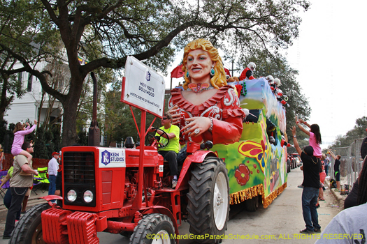 Mardi Gras in New Orleans - photo by Jules Richard