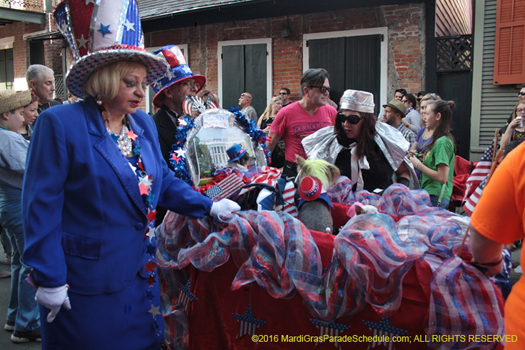 From the dog house to the white house, Mystic Krewe of Barkus - photo by N. Christopher