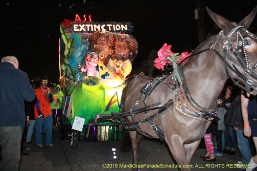 Old school Mardi Gras with a adult twist - photo by Jules Richard