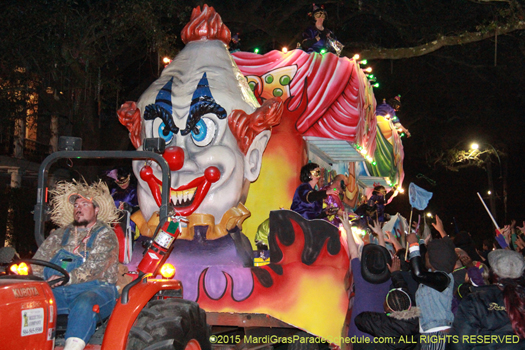 Here come the clowns - photo by Jules Richard