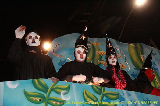 Druids in New Orleans - photo by Jules Richard